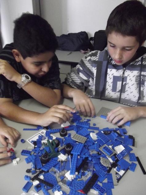 Atividades com jovens no TEMS